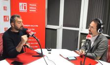 Sebastian Popescu, în studioul RFI