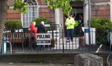 Secție de votare în Londrra la alegerile parlamentare din mai 2015