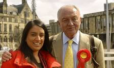 Deputata Naz Shah și fostul primar al Londrei Ken Livingstone