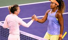 Simona Halep, învinsă de Naomi Osaka la Indian Wells (Foto: Harry How/GETTY IMAGES NORTH AMERICA/AFP)