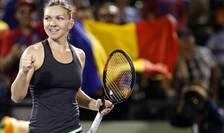 Simona Halep, aici la Miami Open (Foto: Geoff Burke-USA TODAY Sports via Reuters)