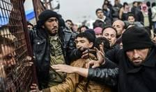 Tabàra de refugiati de la Bab al-Salama din Siria, nu departe de granita cu Turcia, pe 6 februarie 2016. Potrivit ONU, circa 2,7 milioane de refugiati sirieni s-ar afla în Turcia
