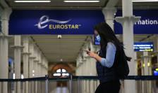 Sosire Eurostar Londra