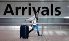 Călătoare sosită în Marea Britanie