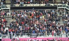 Spectatori pe stadionul StoneX din nordul Londrei