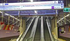 Interior statie de metrou Varșovia