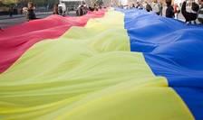Steag romanesc la Chisinau