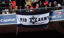 Steag al suporterilor Tottenham Hotspur