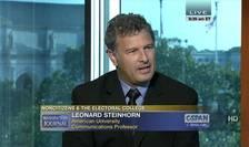 Leonard Steinhorn este profesor de comunicare publică și istorie la Universitatea Americană din Washington