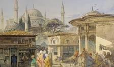 Stradă din Constantinopol, 1868, Amedeo Preziosi