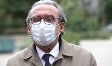 Roland Ries, fostul primar de Strasbourg, cu masca pe fatà, 15 mai 2020.