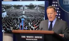 Purtătorul de cuvânt al Casei Albe minimalizează amploarea protestelor împotriva lui Donald Trump