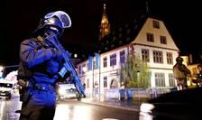 Sute de forte de ordine îl cauta în continuare pe atacatorul din Piata de Craciun din Strasbourg, 12 decembrie 2018.