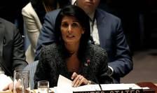 Nikki Haley, ambasadoarea amerianà pe lângà ONU, New York, 28 februarie 2017