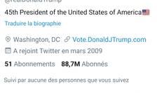 Contul Twitter al lui Donald Trump a fost definitiv dezactivat.