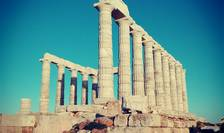 Templul lui Poseidon, din Sounio (Foto: RFI/Cosmin Ruscior)