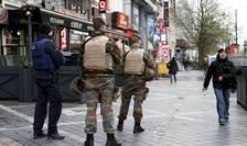 Strazile Bruxelles-ului sunt păzite de Poliție