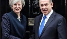 Binyiamin Netanyahu și Theresa May