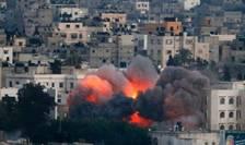 Cartier din Gaza bombardat de Tsahal pe 9 iulie anul trecut