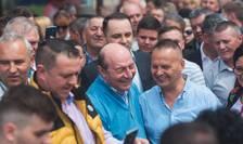 Traian Băsescu este candidatul PMP la Primăria Capitalei (Sursa foto: Facebook/Traian Băsescu)