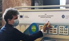 Primarul Capitalei, Nicușor Dan, optimist în privința trenului metropolitan din București (Sursa foto: Facebook/PMB-arhivă)