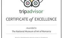 Certificat de excelență, TripAdvisor 2015