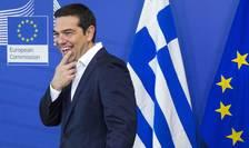 Alexis Tsipras a părut relaxat înaintea reuniunii cruciale de la Bruxelles