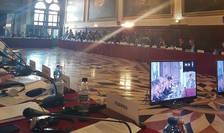 Comisia de la Veneţia discută despre legile justiţiei din România (Sursa foto: Facebook/Tudorel Toader)