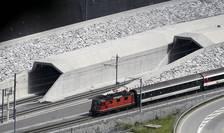 Tunelul Gothard este cel mai lung tunel feroviar din lume cu cei 57 de km si a necesitat 17 ani de munca