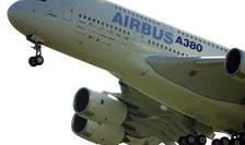 Un Airbus A 380.