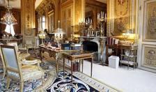 Una dintre încaperile din Palatul Elysée, vizibile cu ocazia Zilei Patrimoniului francez, Paris, 20 septembrie 2008.