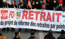 Unii sindicalişti cer retragerea completă a reformei ce urmează să fie prezentată în Consiliul de miniştri. Alţii nu sunt de acord cu unele puncte din proiect, 17 decembrie 2019.