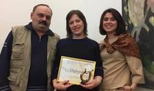 Valeriu Caţer (Radio Chișinău), Valeria Vițu (RFI România) și Natalia Morari (TV 7)
