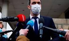 Ministrul francez al Sànàtàtii, Olivier Véran, s-a vaccinat anti-Covid luni 8 februarie 2021.
