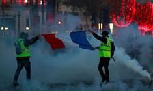 Vestele Galbene vor sa boicoteze traditionala petrecere de pe Champs Elysées în noaptea de Anul Nou.