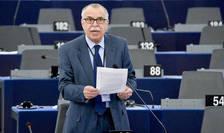 Eurodeputatul Victor Boştinaru condamnă atacul terorist de la Londra (Foto: © Parlamentul European)