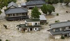 Inundaţii în Japonia (Foto: Reuters/Kyodo)