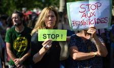 Manifestatie la Paris contra violentelor conjugale, 6 iulie 2019