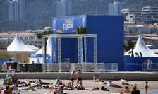 Fan-zone în Marseille (Foto: AFP/Anne-Christine Poujoulat)