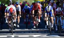 Sosire în etapa a patra a Turului Franței la Nancy