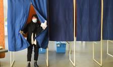 Sectie de votare la Bordeaux, 15 martie 2020