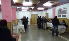 Secție de votare la Comrat