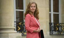 Ministrul francez al justiţiei, doamna Nicole Belloubet.