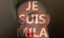 """""""Eu sunt Mila"""" - text / imagine de pe Facebook difuzate de un grup care o sprijină pe adolescenta Mila."""