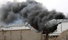 Bombardament asupra orasului Aden, ianuarie 2018