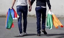 Cuplu gay, în Irlanda (Foto: Reuters/Cathal McNaughton)