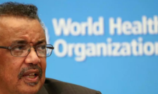 Directorul general al OMS, etiopianul Tedros Adhanom Ghebreyesus