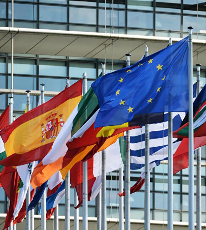 Steagul UE si steagurile tarilor europene