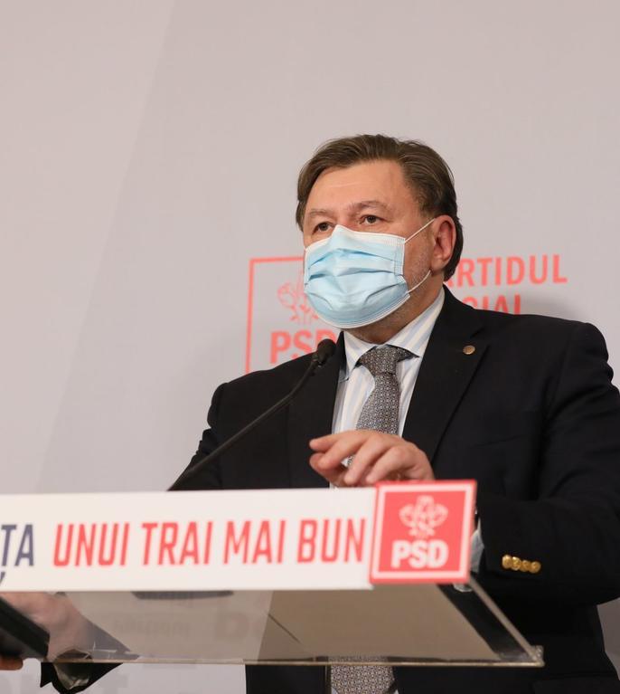 Alexandru Rafila și-ar dori redeschiderea școlilor pe 8 februarie (Sursa foto: psd.ro)