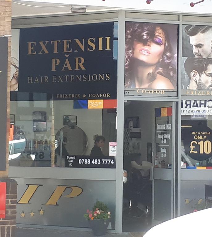 Salon românesc de coafură în nordul Londrei